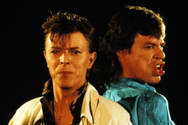 June 29, 1985 – David Bowie and Mick Jagger Record 'Dancing in The Street'